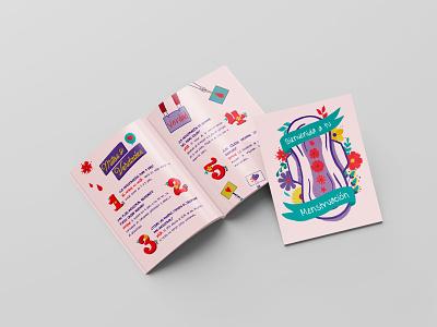 Bienvenida a tu menstruación nature illustration design illustration digital flower illustration woman illustration woman visual art illustrator illustration art illustration