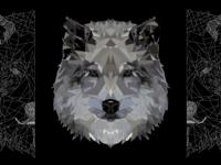 Wolf PolyArt