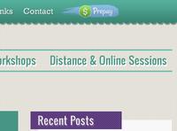 Nav + Prepay Button