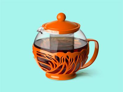 CAMELLIA~ plastic teapot