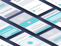 Discovery UX Wireframes