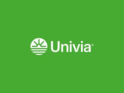 Univia Logo | Brand Identity symbol typography vector logo graphic design logo mark brand identity atlantiser modern logo minimal logo logo design branding