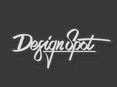 """Lettering """"Design Spot"""" lettering calligraphic minsk epam vector art design minsk letter epam design spot"""