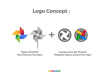 Google Photos Logo - Redesign Concept by uxboss™. app logo app icon design google photos redesign concept redesign logo google logo vector modern logo logo type logo designer logo design logo illustrator idenity icon creative corporate branding app