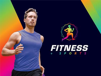 Fitness + Sports (Logo for sale). clean sports fitness flat logo inspirations minimal best logo designer logo designer logo design logo branding concept modern symbol vector lettering lettermark logotipo logotype logos