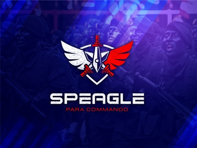 Speagle: Para Commando-Modern Special/Elite Force Logo for sale! best logo designer meaningful logo best logos logo designer for hire veteran logo marines war veteran military logo army logo logotype vector identity special force design modern logo logo designer logo design branding logo