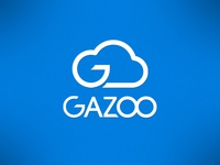 Gazoo logo blue cloud