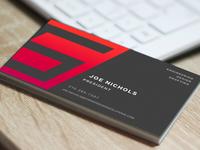 Striker brand business card logo