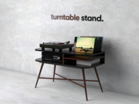 Turntable Stand.