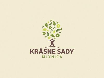 Krásne Sady - logo