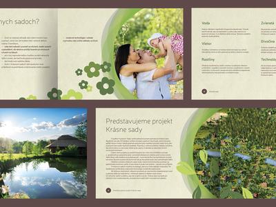 Krásne Sady - brochure