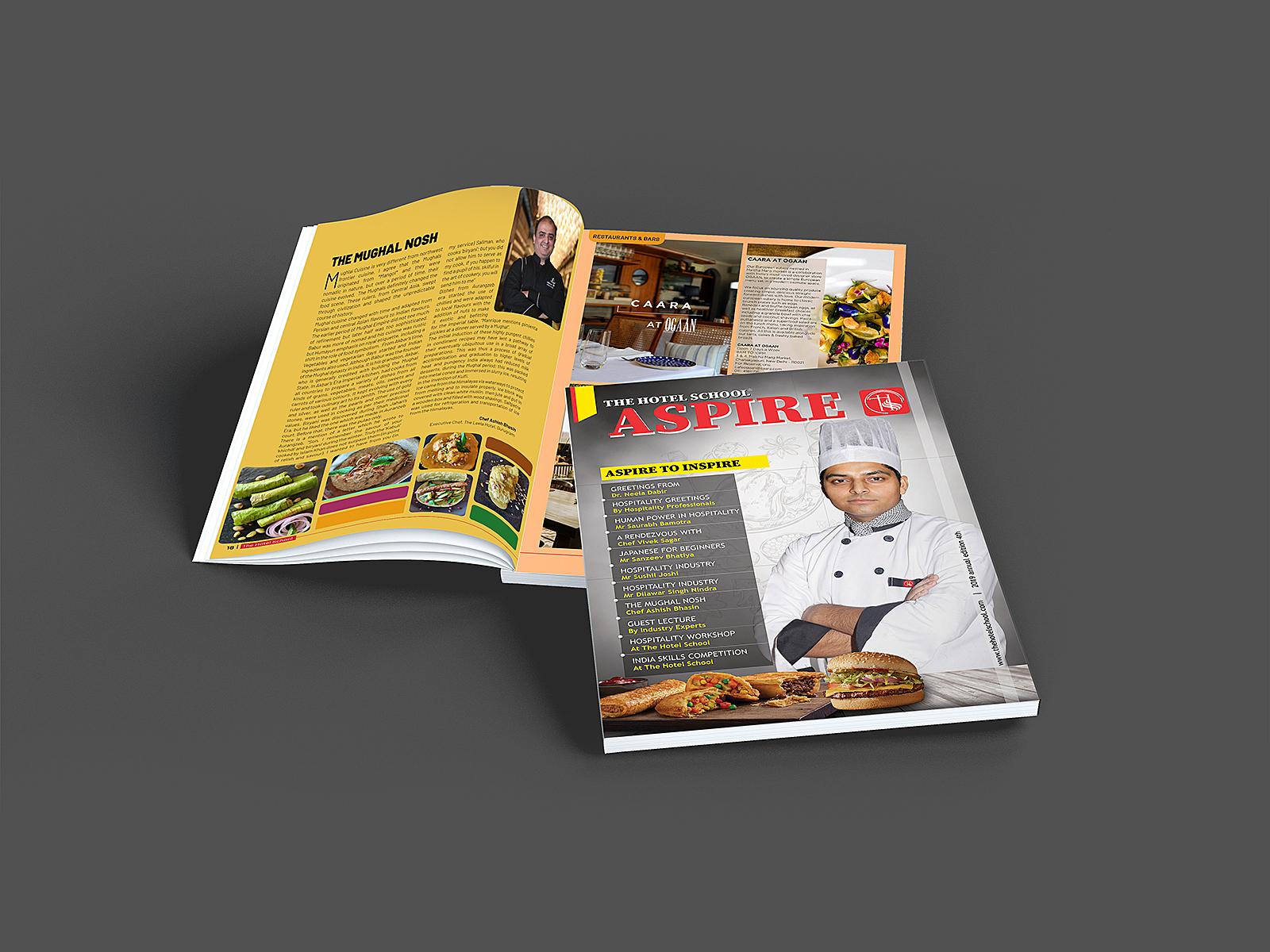 THS Magazine by Rajni Singh on Dribbble