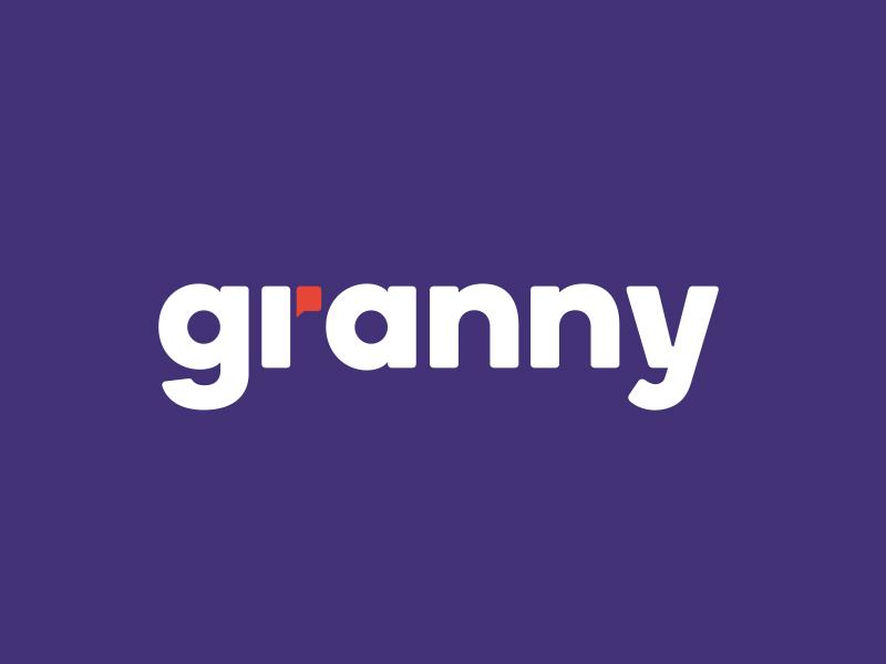 Granny logo design logo