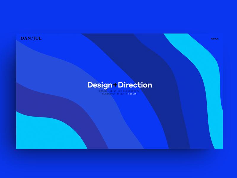 danjul.com webdesign design ui identity branding logo