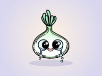 Baby Onion Illustration
