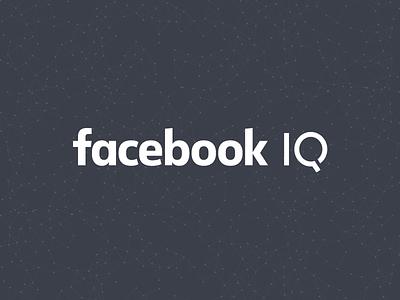 FBIQ facebook iq wordmark logo insights data