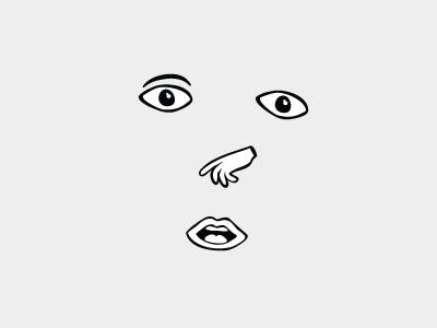 I don't even ipad inkpad sketch face hand