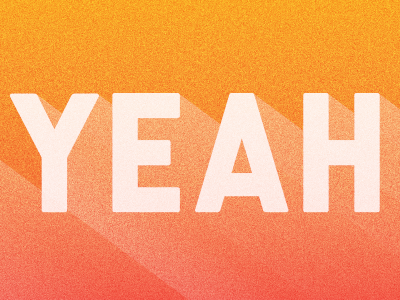 Yeah liberator orange gradient noise blend yeah