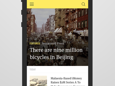 News Index news ios7 ios blog responsive