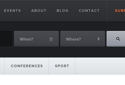 Shall not touch buttons ui web interface