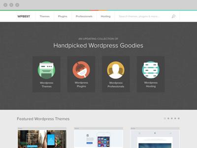 Work in Progress website flat wordpress