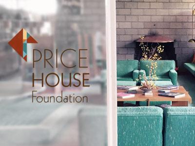 Price House Foundation Logo concept arizona eugene masselink frank lloyd wright price house foundation geometric logo