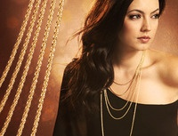 Gold Necklace Ad