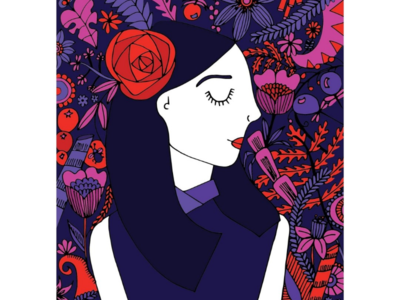 Lady illustration Doodle art