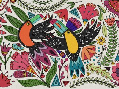 Toucan Composition