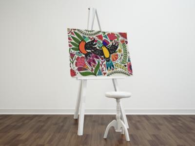 Toucan Acrylic Painting