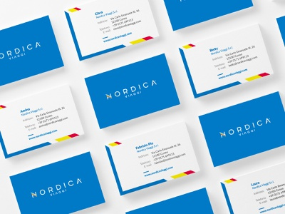 Nordica Viaggi Logo Restyle logo refresh restyling travel travel agency branding design brand identity brand design branding logotype logo design logo