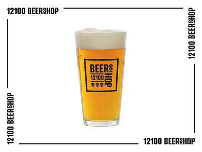 Beer brand beer typography design typo vector beer branding beershop typography logo design branding logo