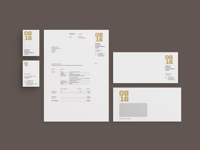 0816 Corporate Design –> Stationery