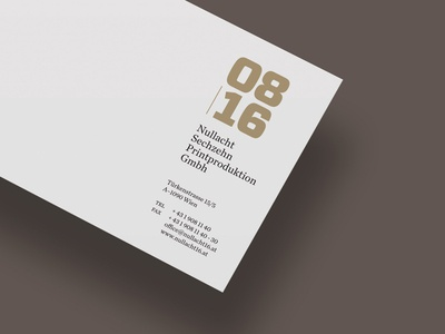 08/16 Corporate Design –> Compliment Card