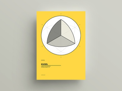 Poster Series 01 / Mathematics vector print design print poster design poster minimalist minimalism mathematics illustration design clean
