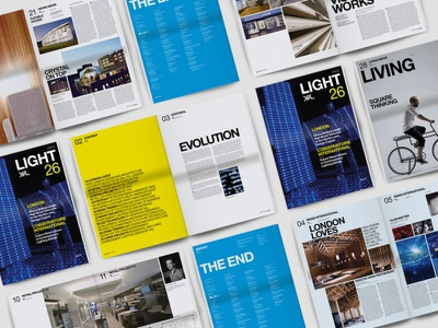 XAL Light Magazine Redesign artdirection graphicdesign company typography photography modern magazine editorial layout layout editorial design editorial branding