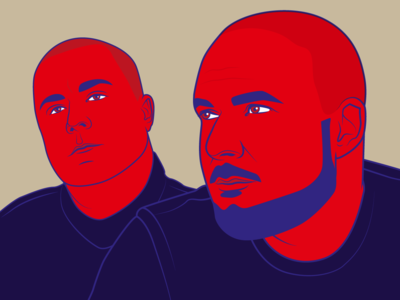 """Best of German Rap"" Illustrations"
