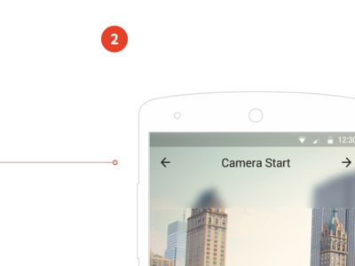 Android Wireframe Camera Taker