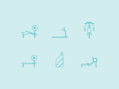 Workout Icons - Freebie Sketch
