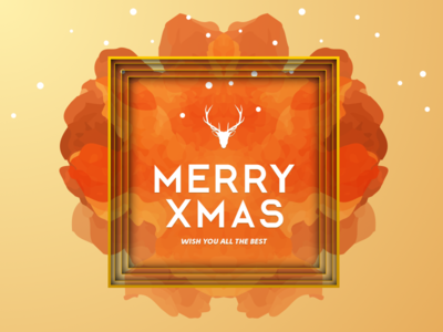 MERRY CHRISTMAS layout design color typographic christmas merry