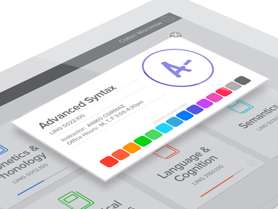 Canvas Dashboard Colors