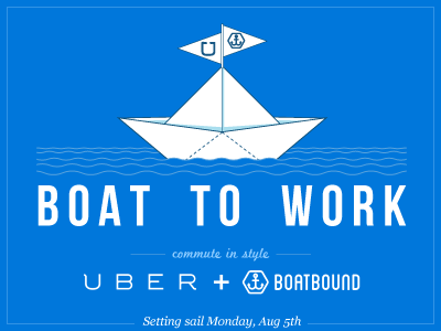 Uber + Boatbound