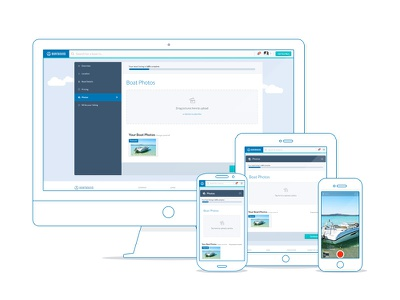 Boat Listing Wizard wizard form upload photo responsive ui