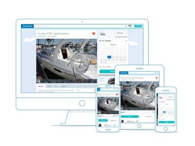 Boatbound Boat Listing listing profile mobile booking