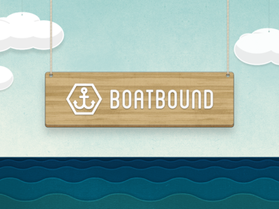 Boatbound Logo / Scene