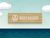 Boatbound Logo / Scene