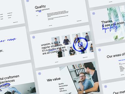 unanim.studio is live. belgium guideline guidelines branding website webdesign design studio digital