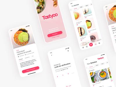 Tastyoo App is live 🥳 food app delivery mobile app food catering app mobile application ux ui
