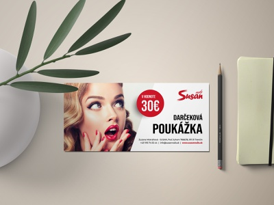 Gift cards - Susan nails clever ux ui brand identity brand design branding flat creative design nails card gift card