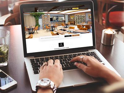 Web - eliterestaurant.sk brand identity ux brand design ui branding restaurant creative design website design web design webdesign website web